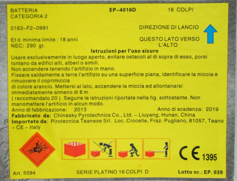 5094 Serie Platino 16 Colpi D 02011