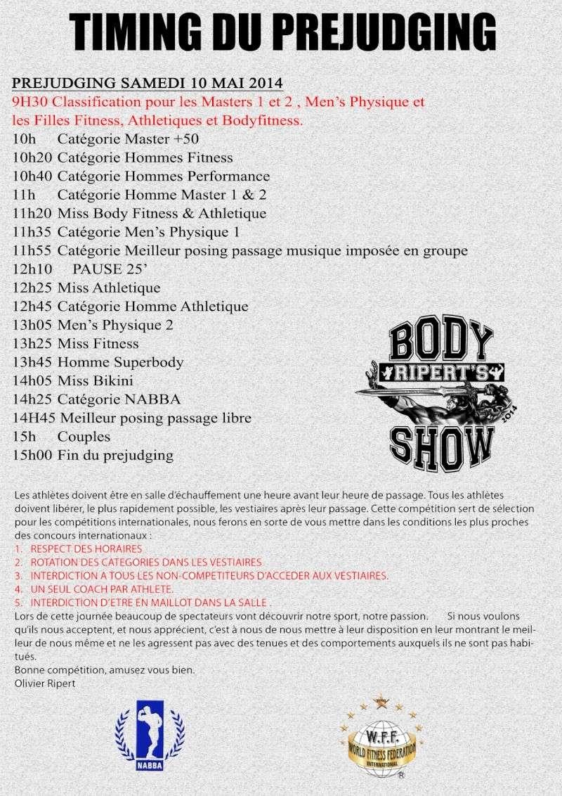 body - RIPERT'S BODY SHOW 2014 Timing10