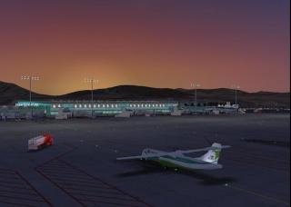 Cenário de Fuerteventura para o FSX lançado Gcfv1110