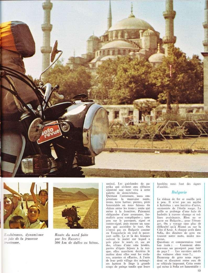 reportage Moto-Revue 1970 : PARIS-BOMBAY, 27000 km en R75/5. 2022_115