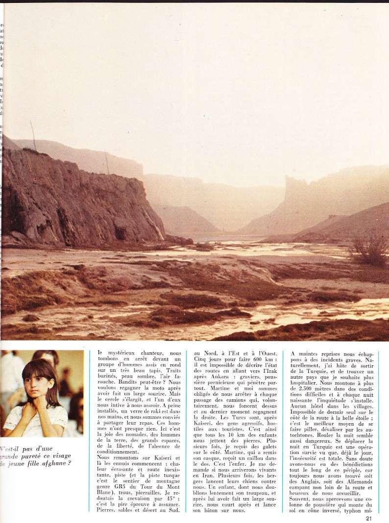 reportage Moto-Revue 1970 : PARIS-BOMBAY, 27000 km en R75/5. 2022_211