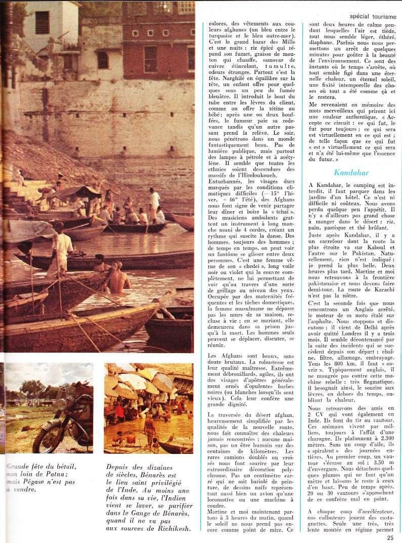 reportage Moto-Revue 1970 : PARIS-BOMBAY, 27000 km en R75/5. 2022_215
