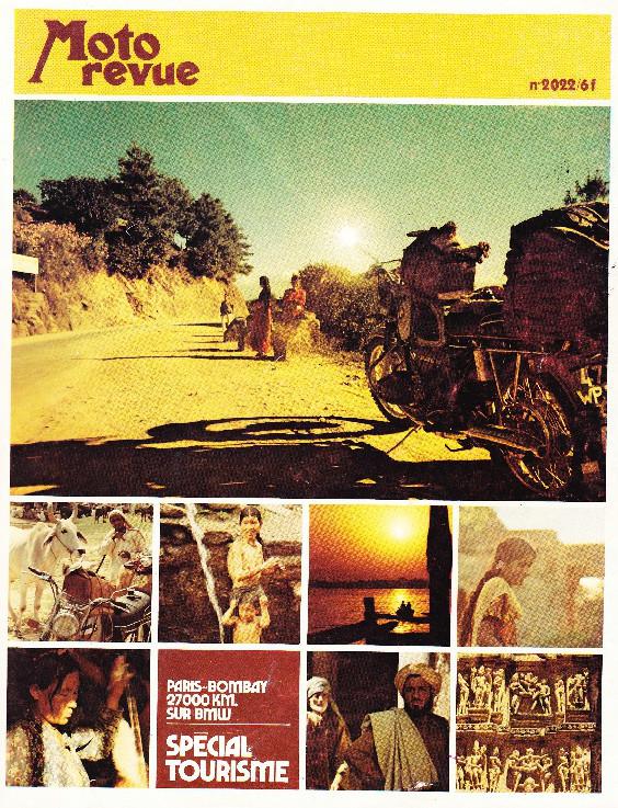reportage Moto-Revue 1970 : PARIS-BOMBAY, 27000 km en R75/5. 2022_c14