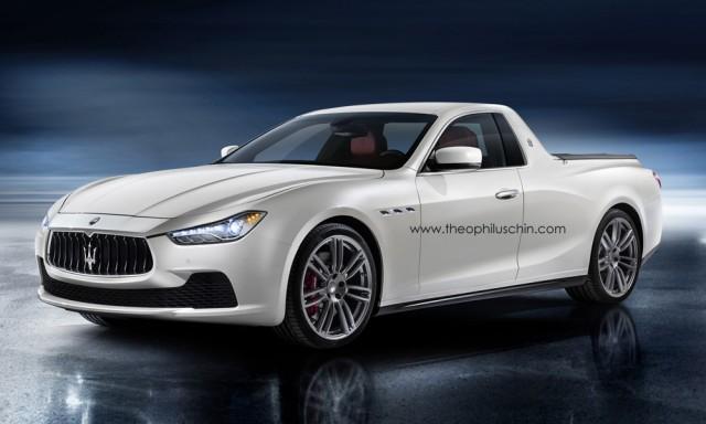 Confermato il pick-up Maserati su base Ghibli 11560510