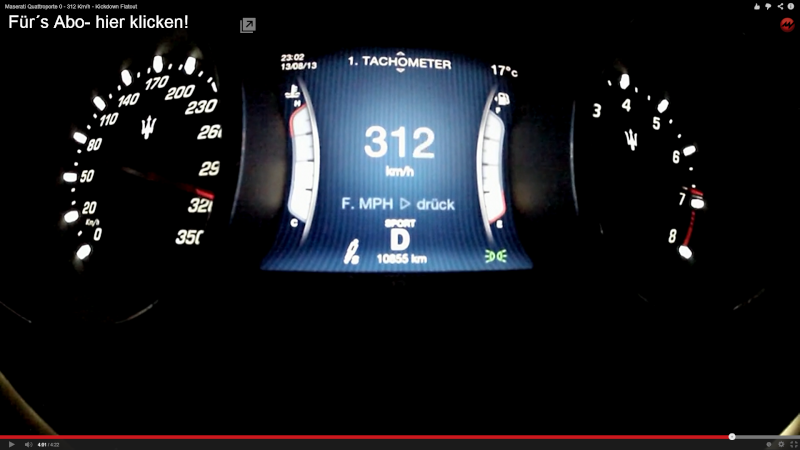 0-312 km/h stando seduti comodi Screen10