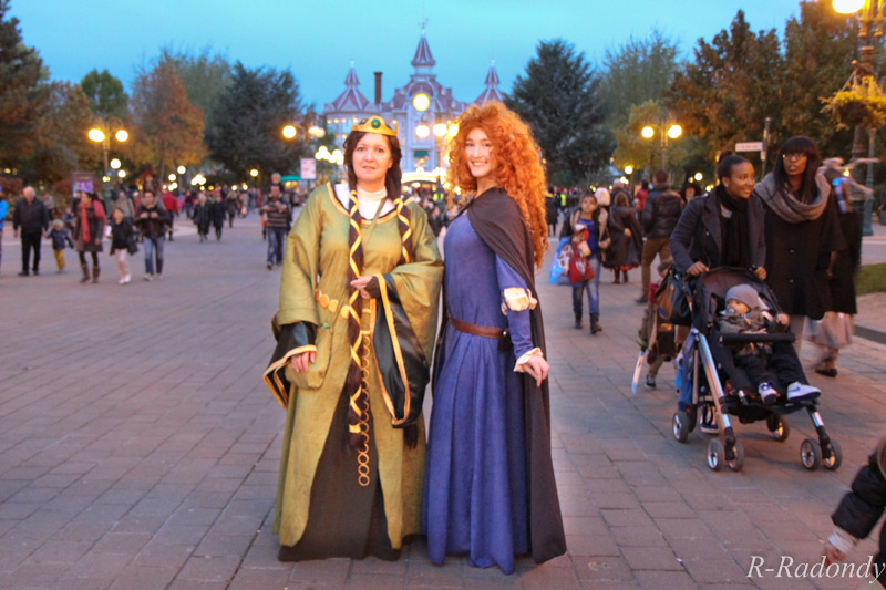 Merida et Elinor pour une soirée magique à DLP ! [Soirée Halloween 2013] Allowe22