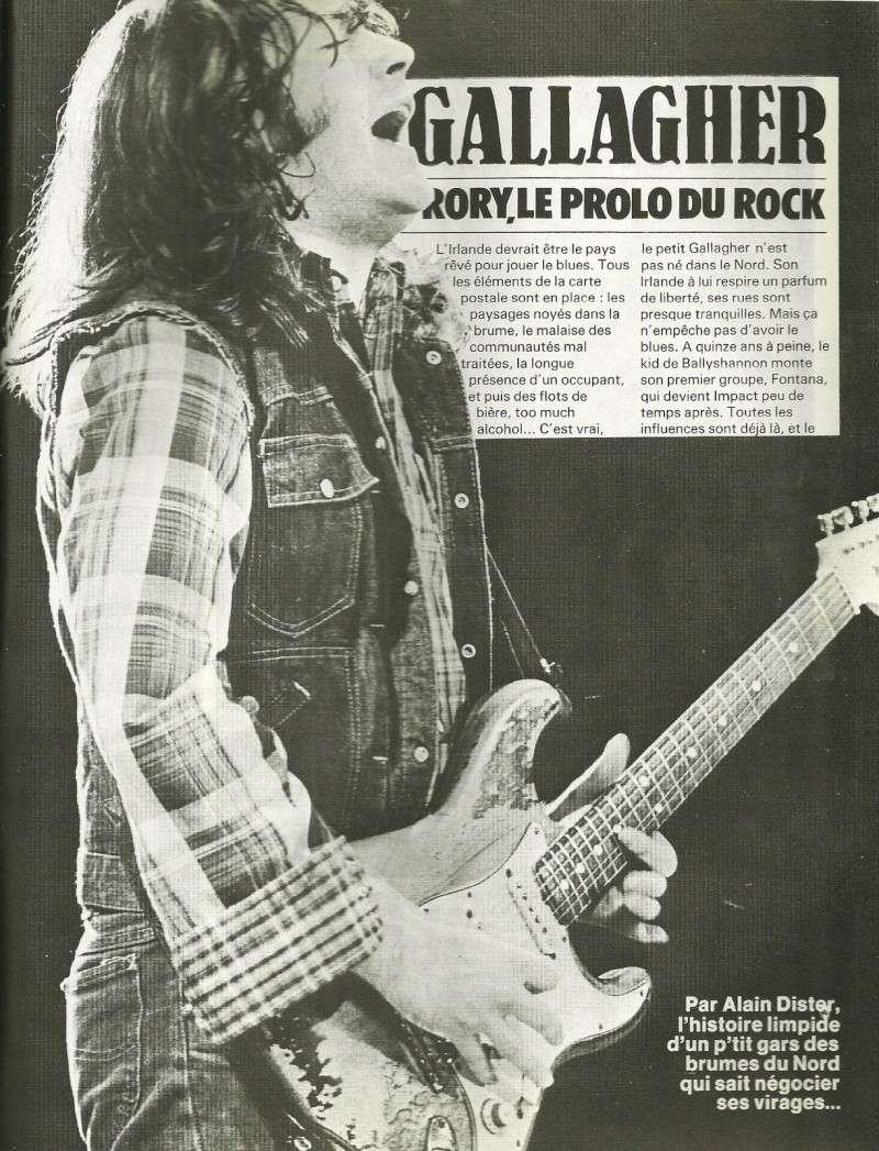 Rory Gallagher dans la presse française Num25c10