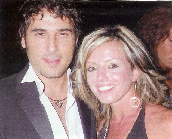 An old pic bassem with an actress Bassem13