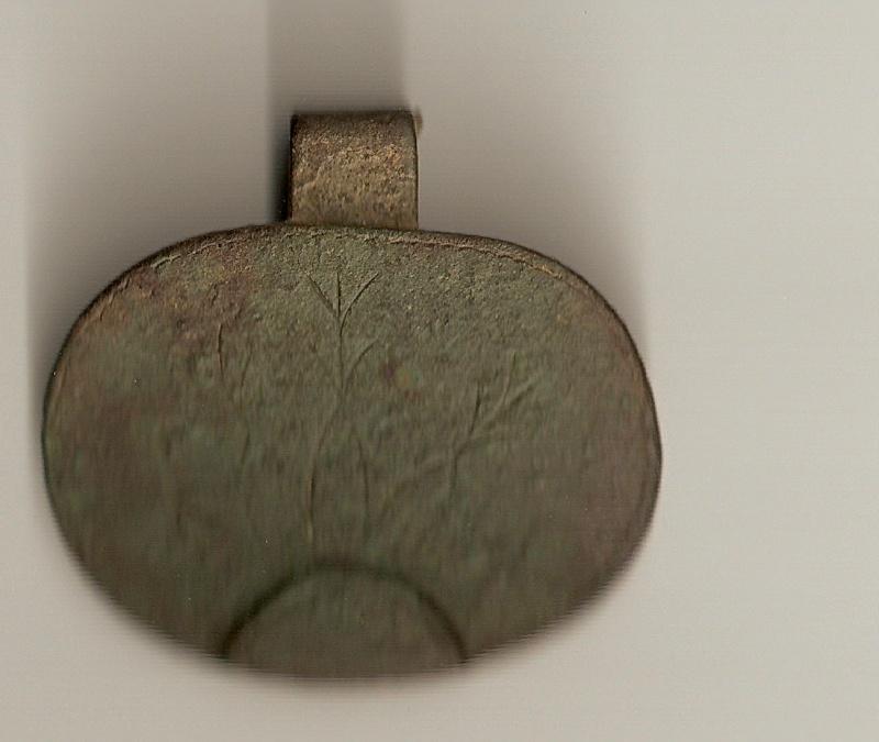 Pinjante postmedieval de bronce Hpqsca11