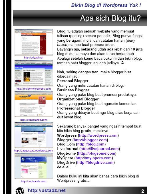 Training Blog dan Forum dan internet Bikin_10