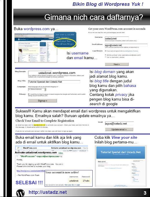 Training Blog dan Forum dan internet Bikin_11