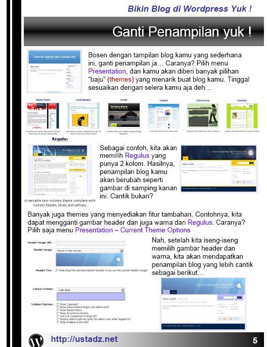 Training Blog dan Forum dan internet Bikin_13