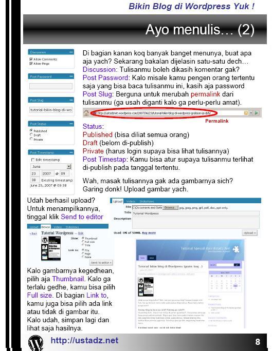 Training Blog dan Forum dan internet Bikin_15