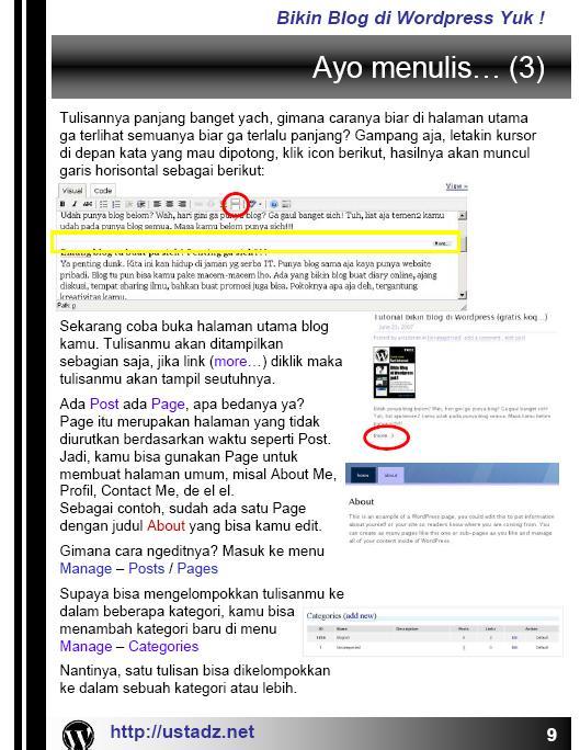 Training Blog dan Forum dan internet Bikin_16