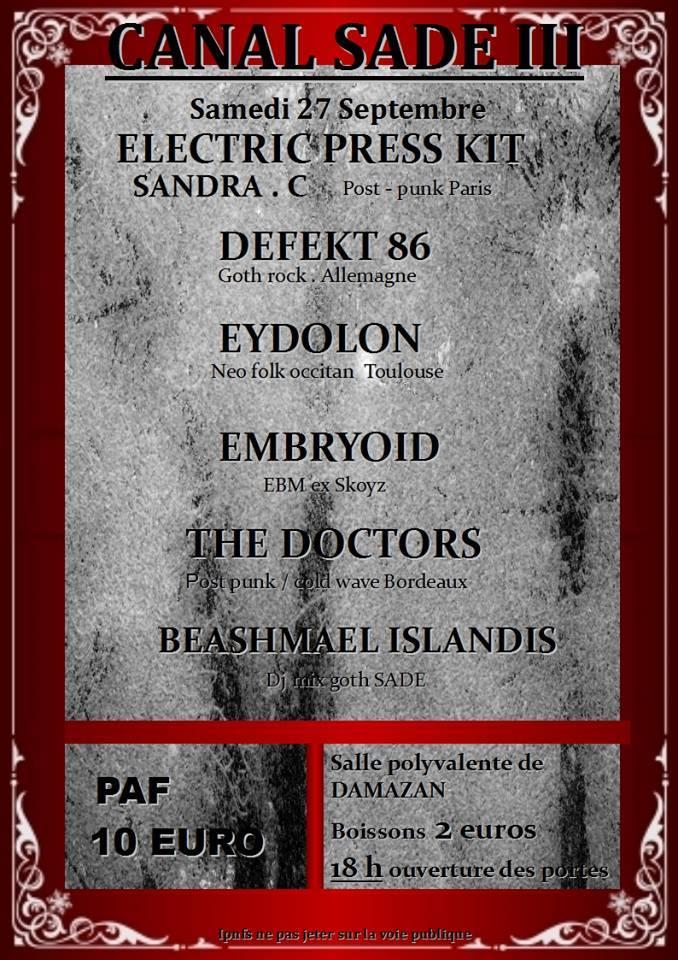 [27.09.14] ELECTRIC PRESS KIT à Canal S.A.D.E.- Damazan (Lot-et-Garonne)   Flyer_14