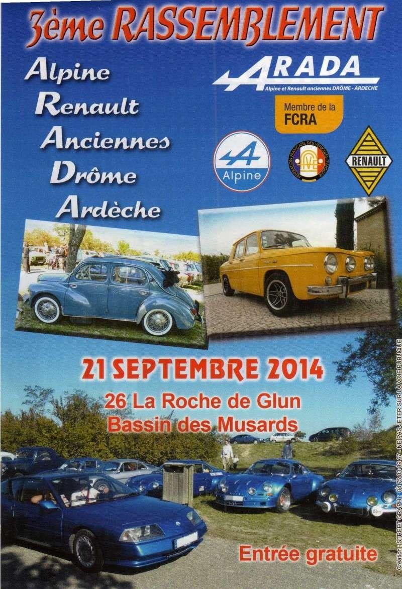 [26] 21/09/2014 - 3ème rassemblement ARADA àLa Roche de Glun Arada_10