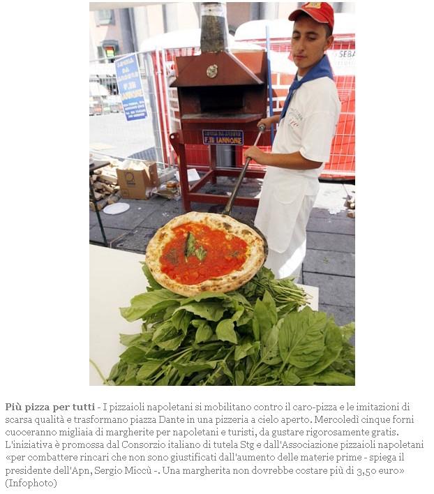 Oggi pizza gratis Pizza10