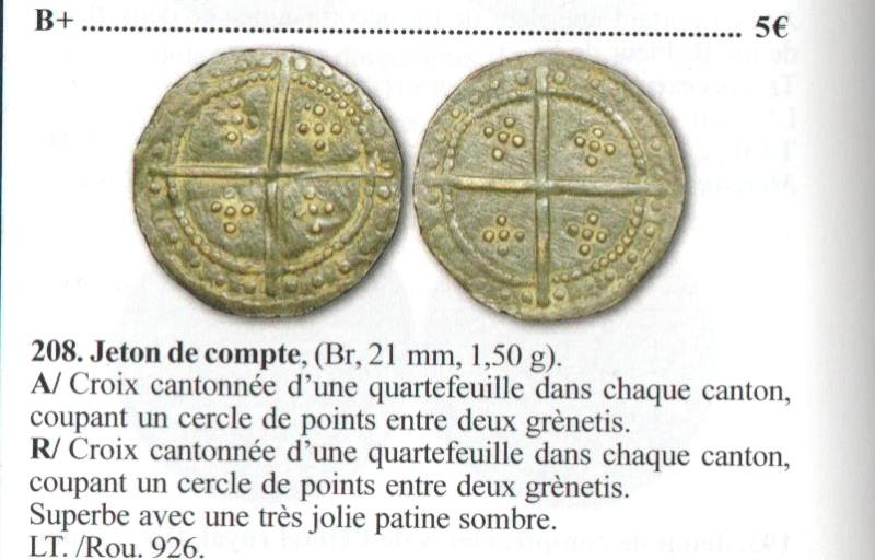 Monnaie ou médaille à Identifier Mereau10