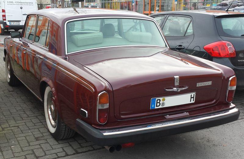 Rolls Royce Silver Shadow II 20140215