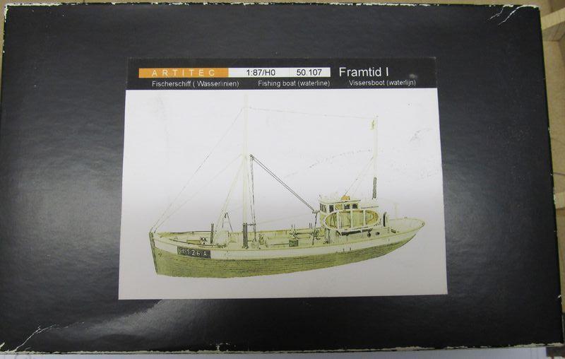 Norwegisches Fischerboot  ARTITEC  1:87  Hafen_10