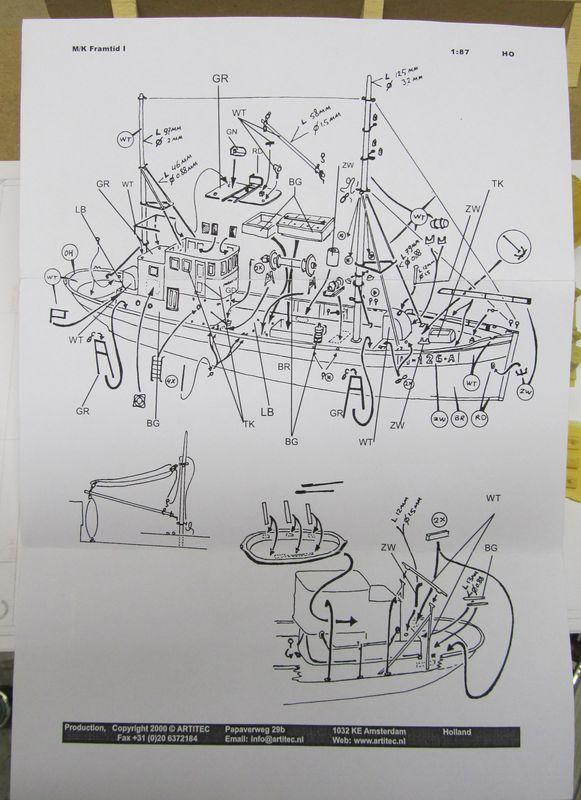Norwegisches Fischerboot  ARTITEC  1:87  Hafen_11