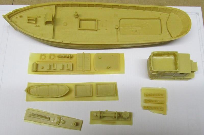Norwegisches Fischerboot  ARTITEC  1:87  Hafen_12