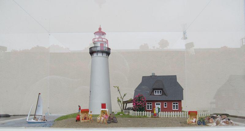 """Leuchtturm """"Hiddensee"""" KIBRI 1:87 FINALE Hidden10"""