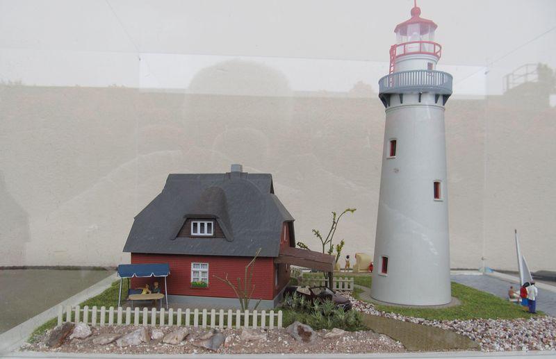 """Leuchtturm """"Hiddensee"""" KIBRI 1:87 FINALE Hidden18"""