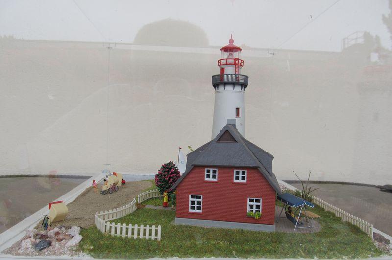 """Leuchtturm """"Hiddensee"""" KIBRI 1:87 FINALE Hidden20"""