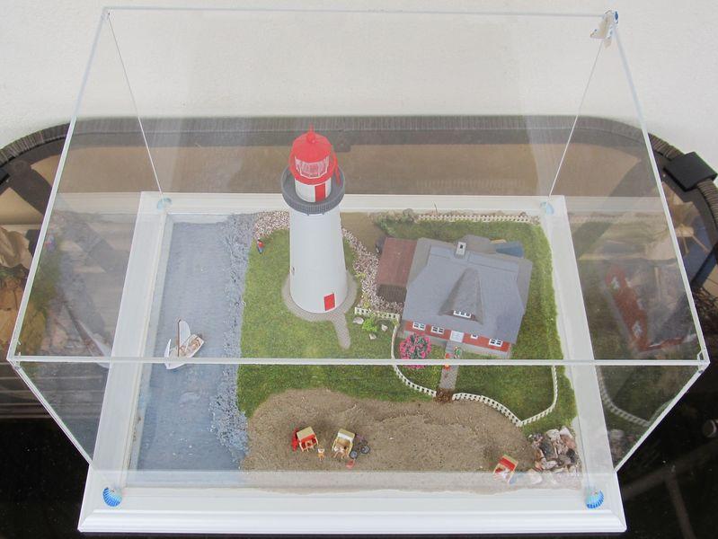 """Leuchtturm """"Hiddensee"""" KIBRI 1:87 FINALE Hidden22"""