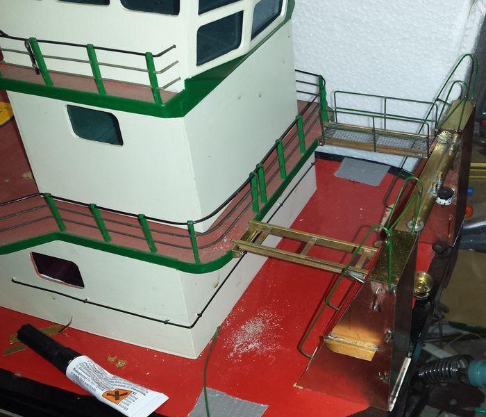 Schubschiff THYSSEN II Thysse92