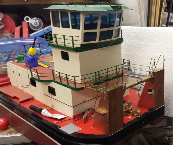 Schubschiff THYSSEN II Thysse98