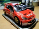 PEUGEOT 206 WRC version 2003 1/24 Sam_0116