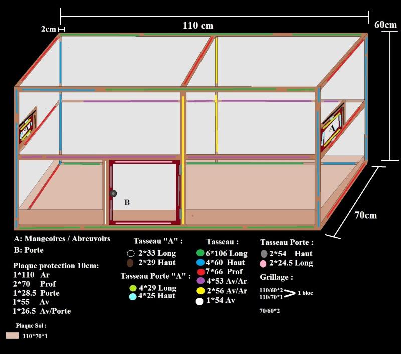 Cage maison : les plans Cage11