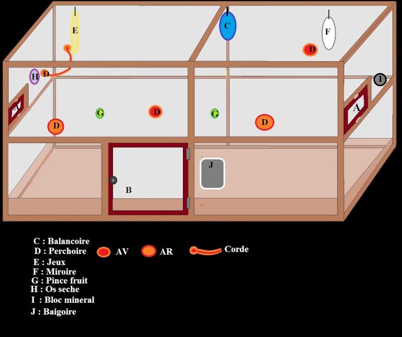Cage maison : les plans Cage210