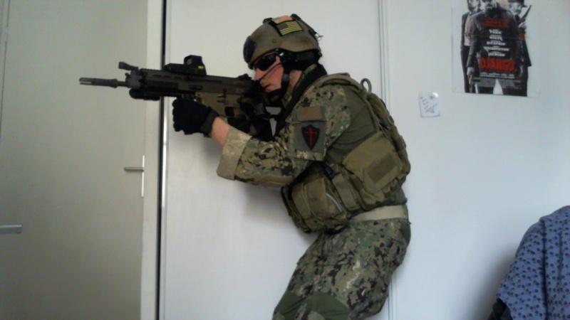 Tenue inspiration Navy Seal Warfare Pictur10
