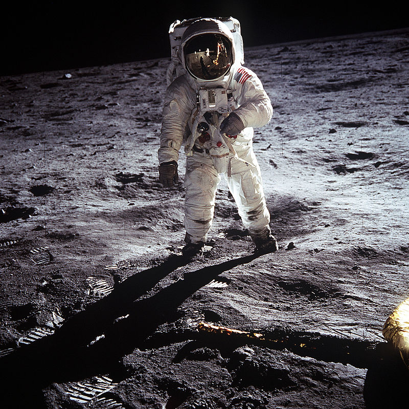 Image du jour: 13 photographies qui marqueront à jamais notre Histoire Aldrin10