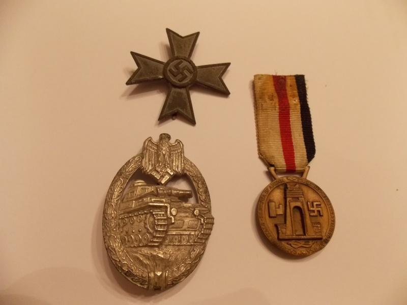 Vos décorations militaires, politiques, civiles allemandes de la ww2 - Page 9 Dscn0017