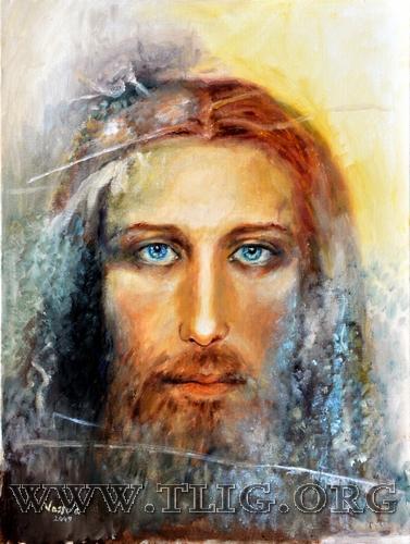 Photos miraculeuse de Jésus Peintu10