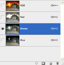 Remoção de efeito Flare em Photoshop. Chanel10