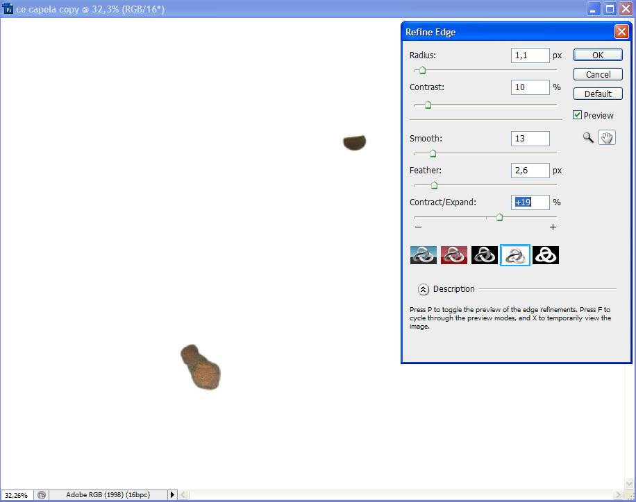 Remoção de efeito Flare em Photoshop. Redefi10