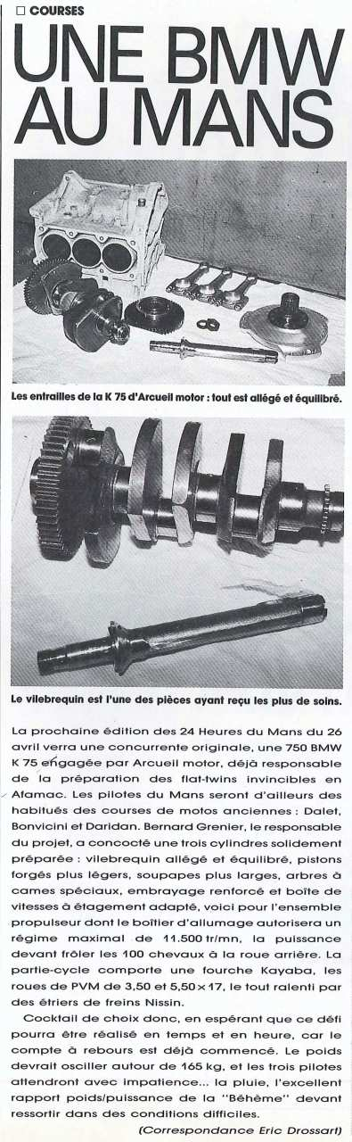 K75 endurance (Arcueil Motor) Ml14-110