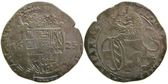 Escalin de Felipe IV 1623. Condado de Artois Imagen10