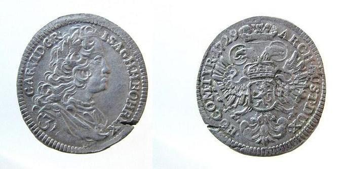 Carlos VI  3 Kreuzer.  Img_1910