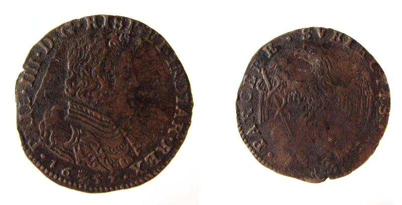 Jetón de Felipe IV. Amberes. 1652. Apoyo a Condé y a los líderes de la Fronda. Img_2111