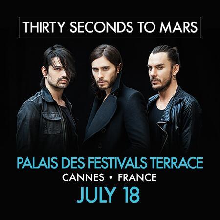 Concert au Palais des Festivals Terrace à Cannes en France le 18 Juillet 2014   Bkm67r10