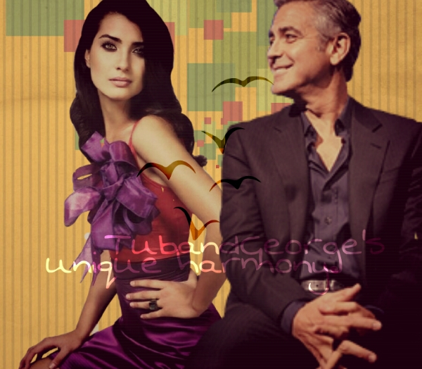 George Clooney and Tuba Buyukustun Photoshopped Pictures - Page 6 Picsar14
