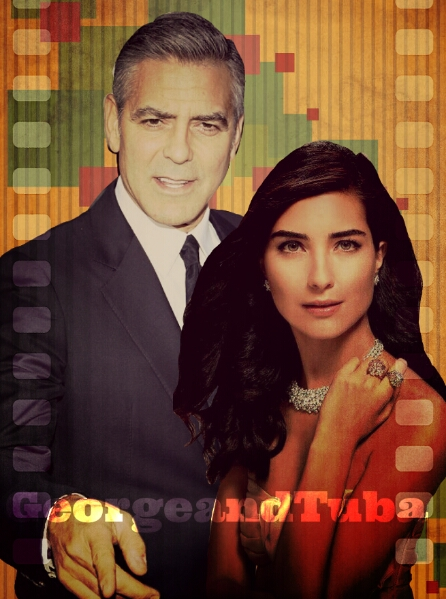 George Clooney and Tuba Buyukustun Photoshopped Pictures - Page 6 Picsar19
