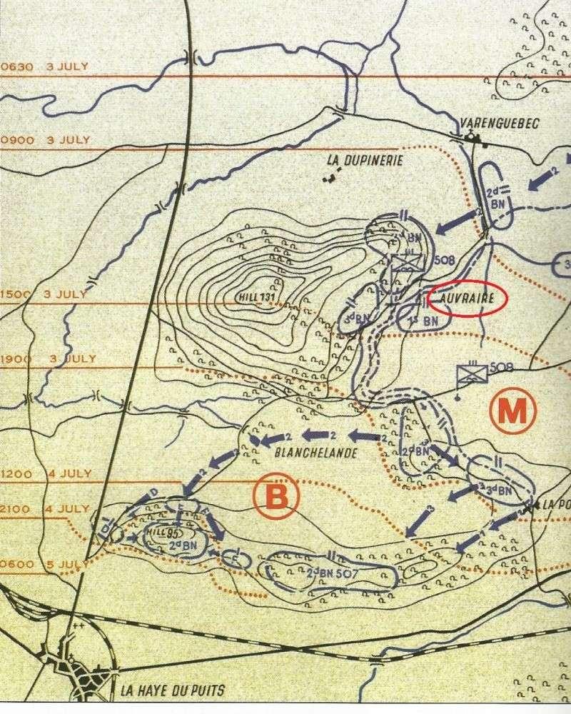 3 juillet 1944 - Hill 131 (82nd airborne division) Scan0014