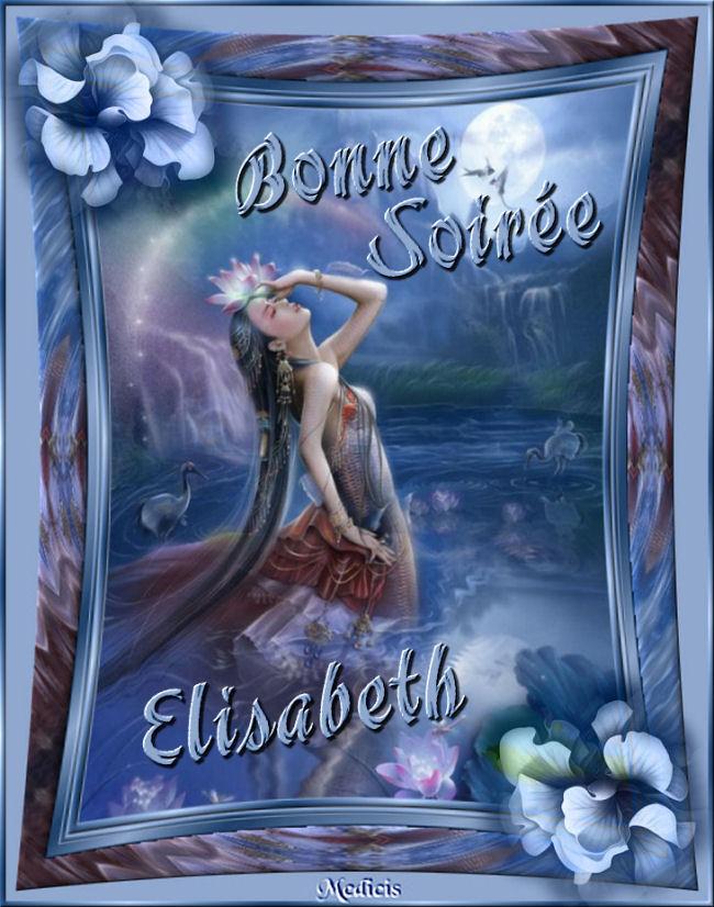 BONNE SOIREE DE SAMEDI... A DEMAIN Elisab37